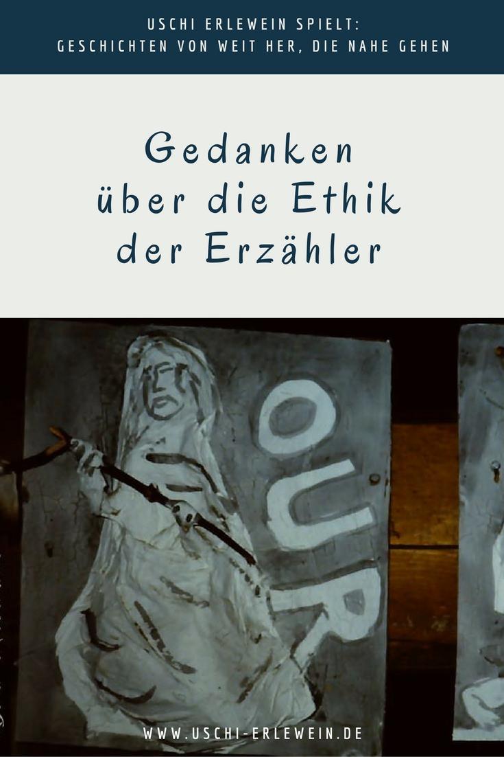 Artikelfoto: Ethik der Erzähler - Gedanken über die Ethik der Erzähler